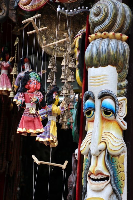 Puppets and Masks in Bhaktapur