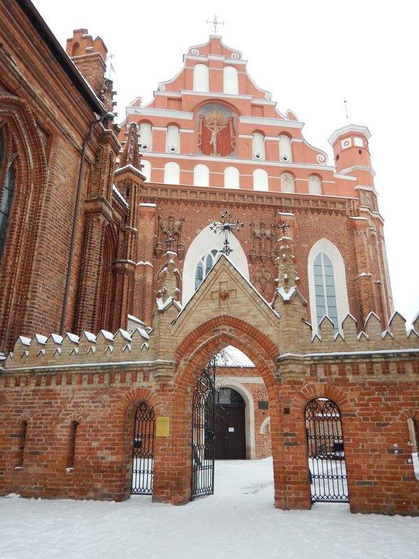 St Anne's Church Vilnius