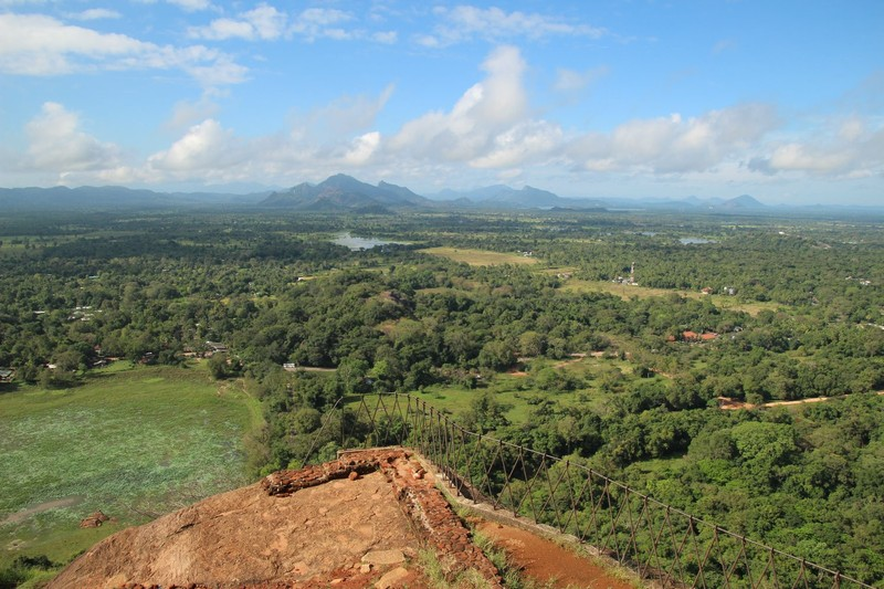 Far Reaching Views from Sigiriya