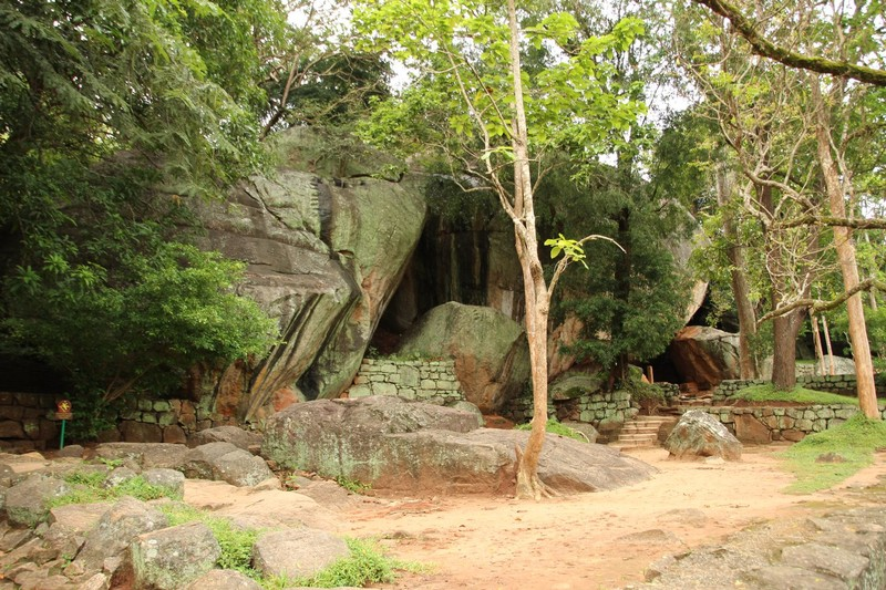 Boulder Garden at the base of Sigiriya Rock