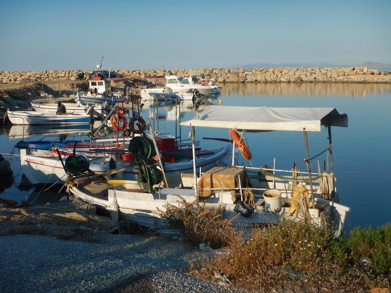 Harbour in Kolymbari