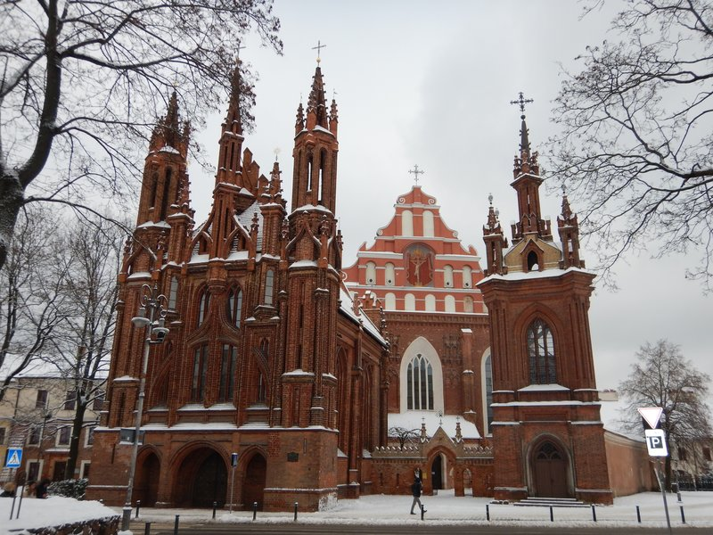 St Anne's Church Vilnius