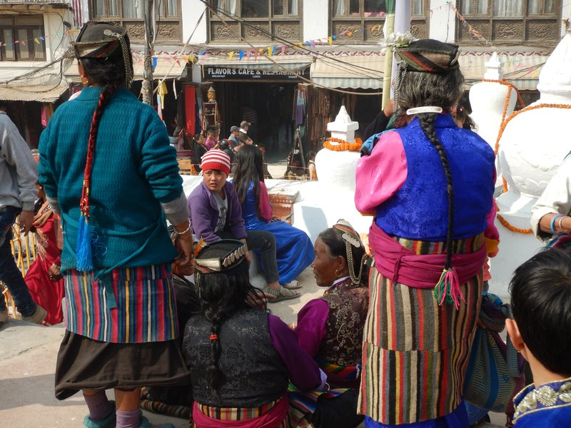 Ethnic Tibetans Celebrating the New Year