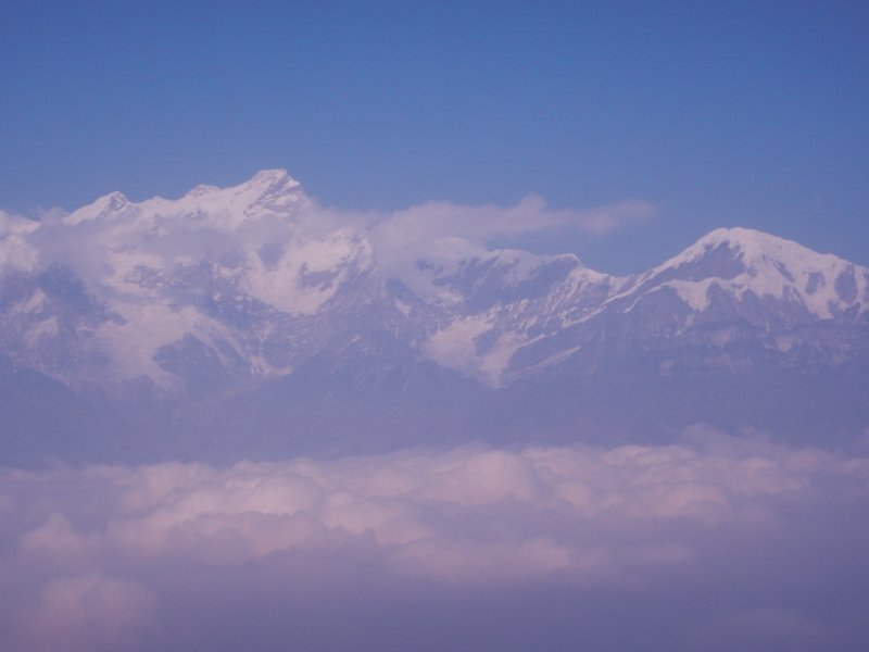 Himalyas above the clouds