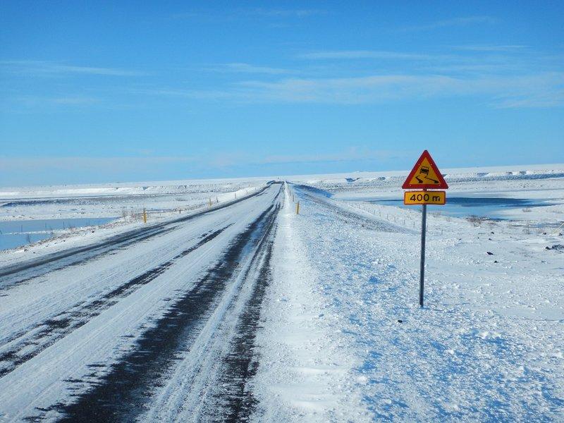 Slippery Roads