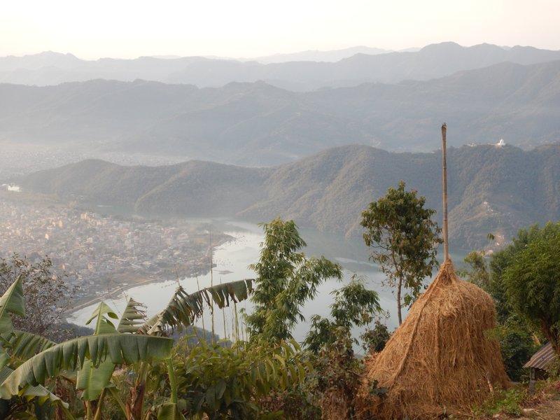 Looking Over Pokhara From Sarangkot