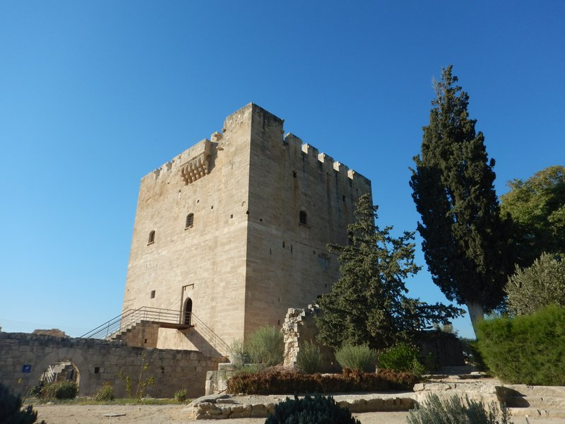 Castle at Kolossi