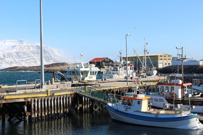 Harbour at Djupivogur