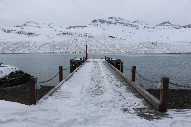Jetty into the Fjord