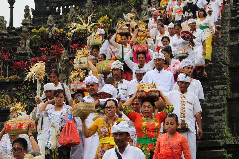 Funeral Procession Besakih