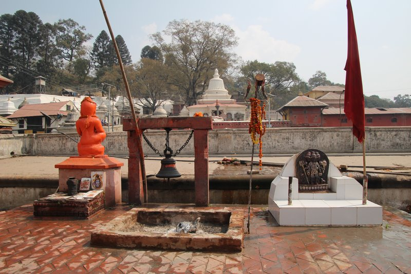Side temple at Pashupatinath