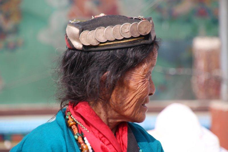Local Woman at Boudhanath