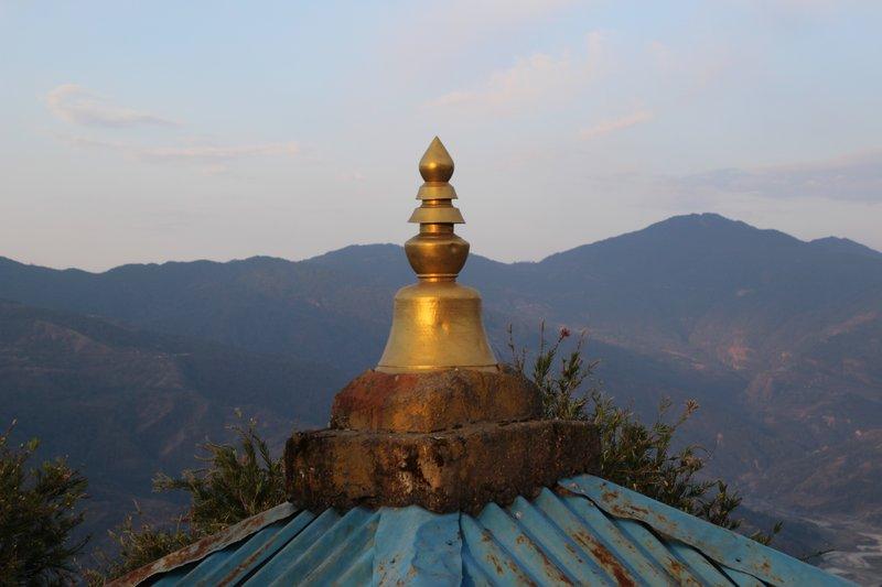 Sunrise over Sarangkot