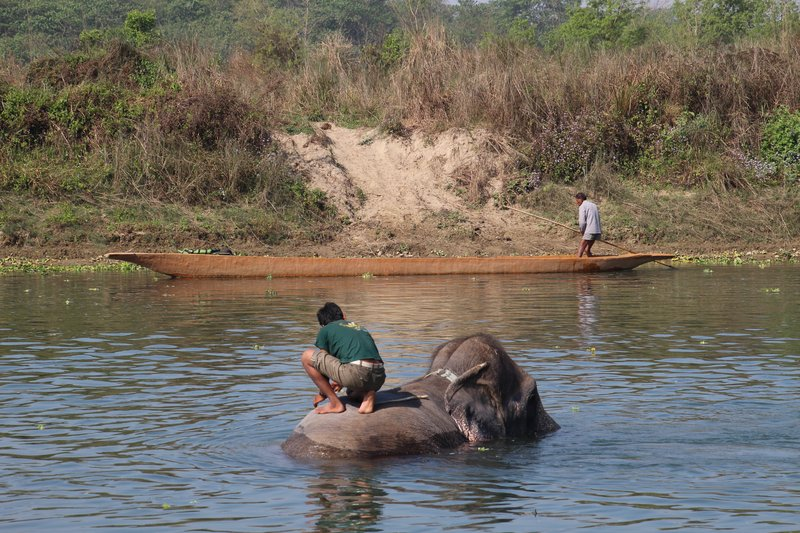 Everyday life on the Rapti River