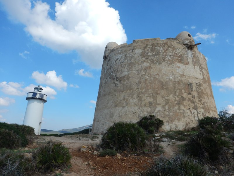 Lighthouse and Tower at Porto Conte