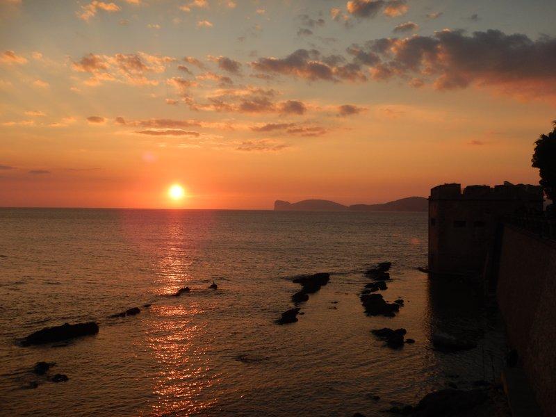 Sunset over Capo Caccia