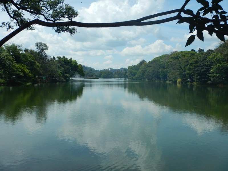 Overlooking Kandy Lake