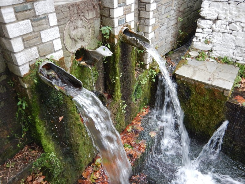 Spring Water Fountains at Panagia