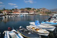 The harbour at Molyvos