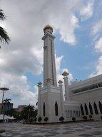 Minaret at the Sultan Omar Ali Saifuddien Mosque