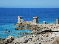 Ruined Sea Defences
