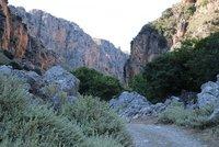 Deliana Gorge at dusk