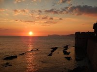Sunset over Capo Caccia