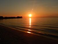 Sunset at Skala Rachoni