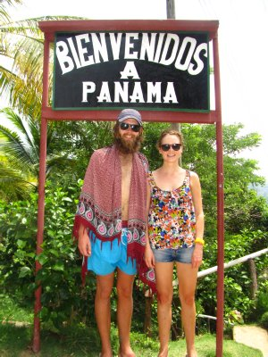 Entering Panama