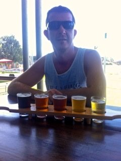 Dad and his beer