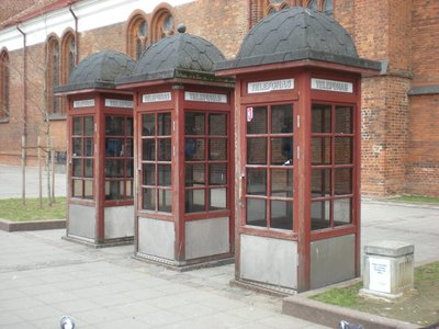 Lithuanian Telephone Boxes