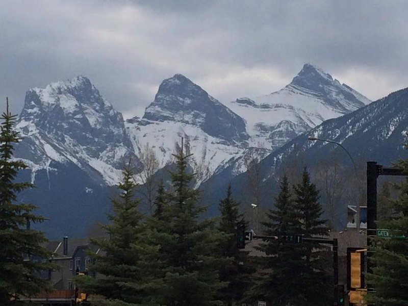 The Three Sisters, Canmore
