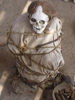 Chauchilla cemetery mummies