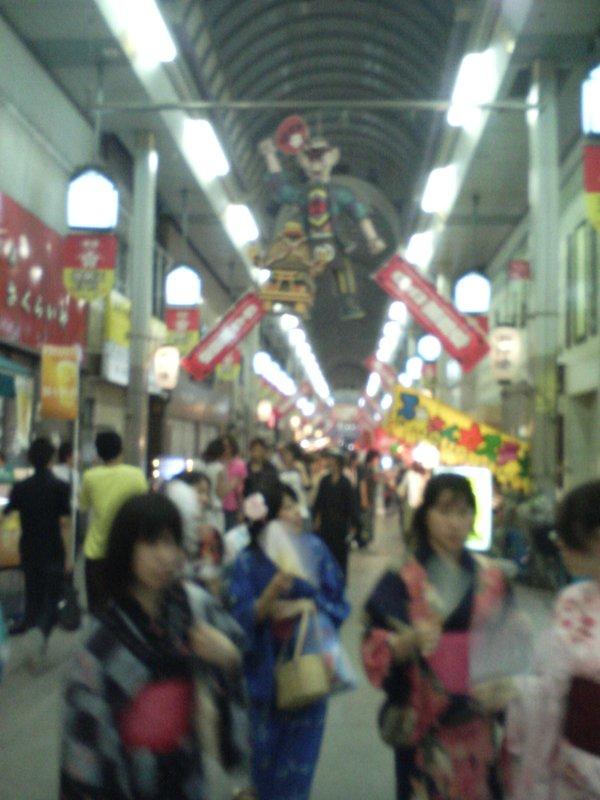 Tenjin Festival - Arcade View