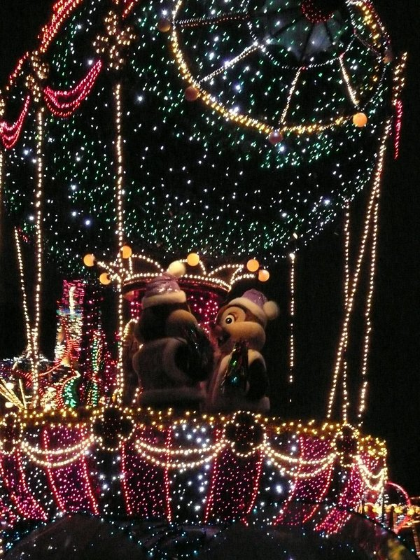 Chip and Dale float