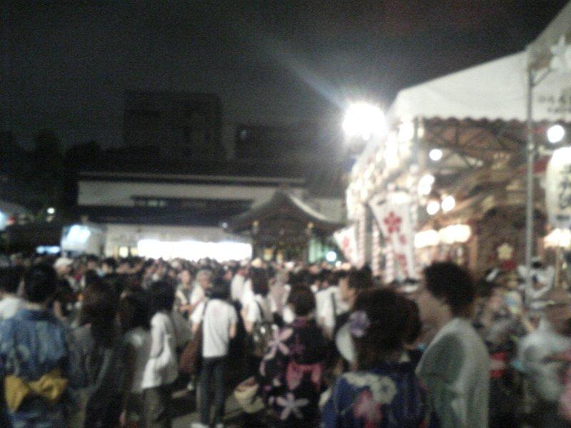 Tenjin Festival - Inner grounds 2