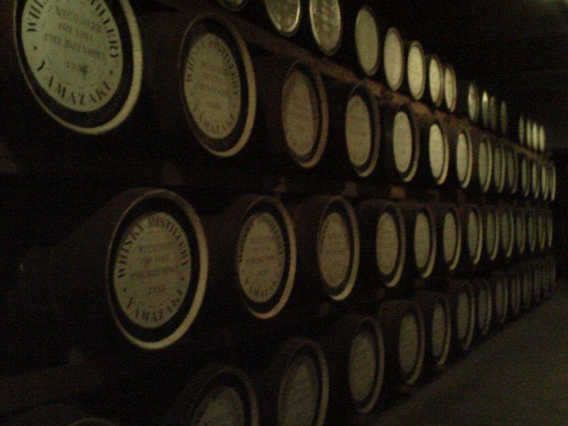 Whisky Storage