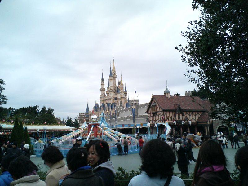 Disneyland Castle (day)