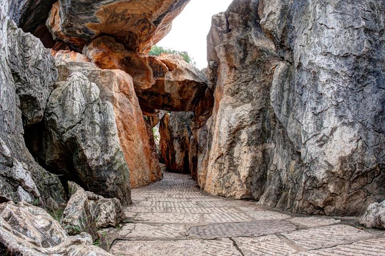 Rock Cavern Formation