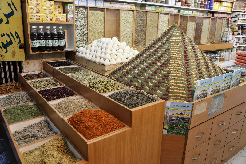 Spice Pyramid and More Spices