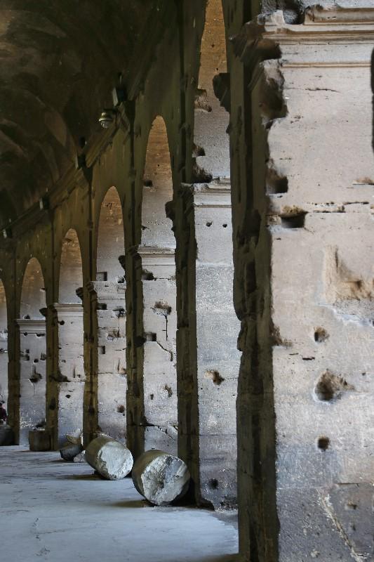 Pillars of the Roman Coliseum