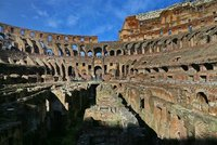 Roman Coliseum: View from the Floor