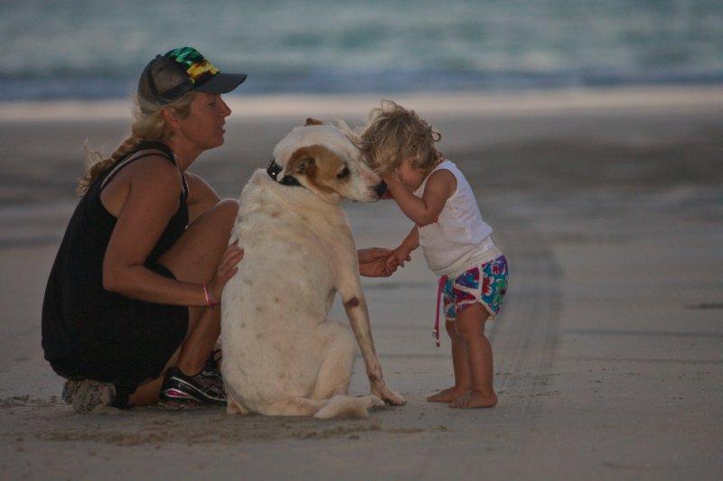 Me, Tyson and Cedar on Cable Beach