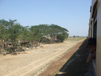 Train to Bagan