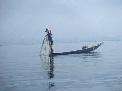 Fishing on Inle