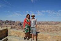 Erin and Jo in Jordan