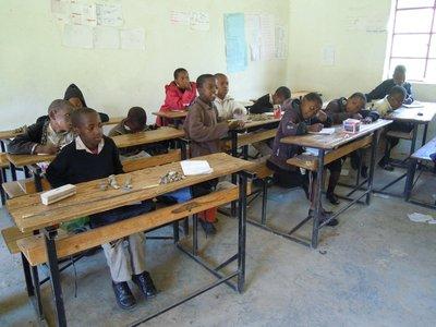 Daniel's year group Lesotho