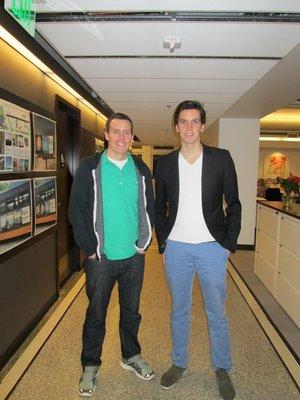 Copacino visit with Andy Corbett