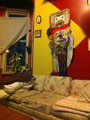 Couchsurfing hippies