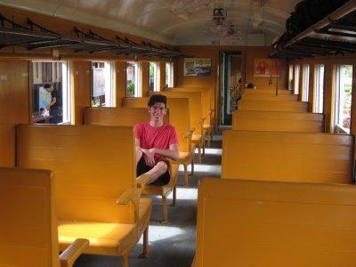3rd Class seat